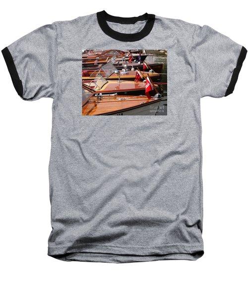 Classic Boats Baseball T-Shirt