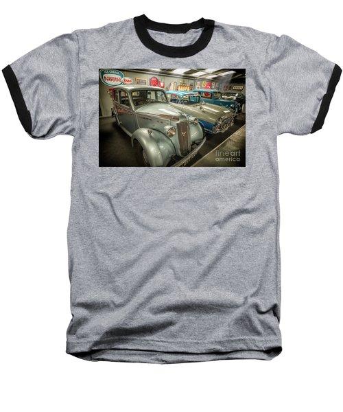 Baseball T-Shirt featuring the photograph Classic Car Memorabilia by Adrian Evans