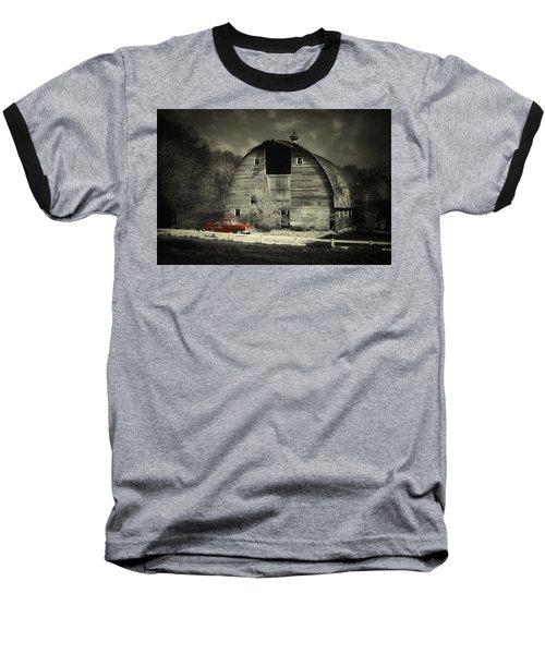 Classic Chevrolet  Baseball T-Shirt by Julie Hamilton