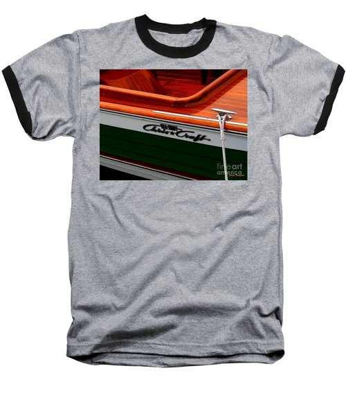 Classic Chris Craft Sea Skiff Baseball T-Shirt