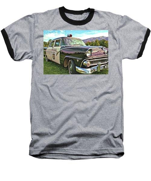 Classic Cop Car Baseball T-Shirt
