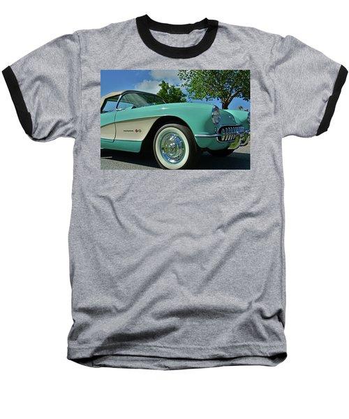 Classic Corvette Baseball T-Shirt
