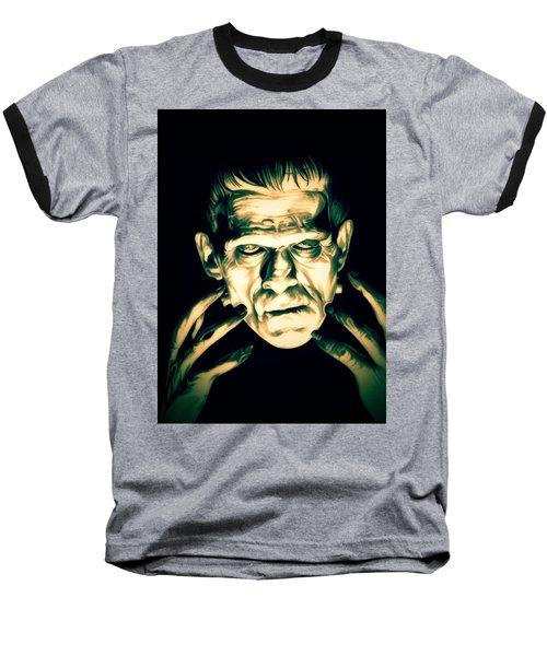 Classic Frankenstein Baseball T-Shirt