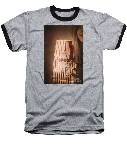 Baseball T-Shirt featuring the photograph Classic Hollywood Flicks by Jorgo Photography - Wall Art Gallery