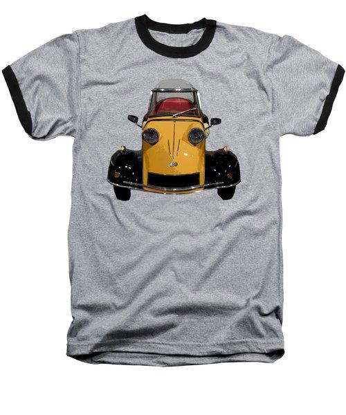 Classic M Motor Art Baseball T-Shirt