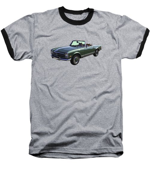 Classic Mercedes Benz 280 Sl Convertible Automobile Baseball T-Shirt