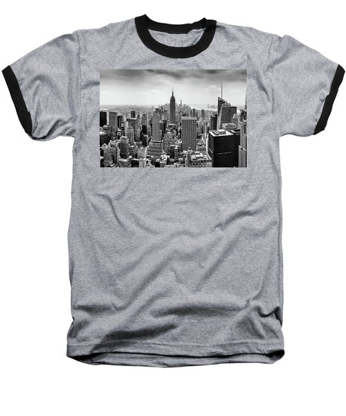 Classic New York  Baseball T-Shirt by Az Jackson
