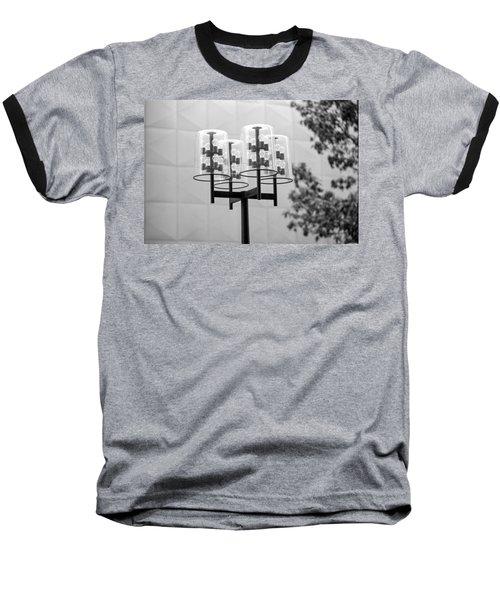 Classic Nicollet Mall Street Lamp Baseball T-Shirt