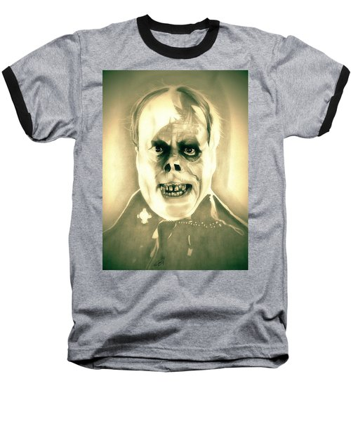 Classic Phantom Of The Opera Baseball T-Shirt