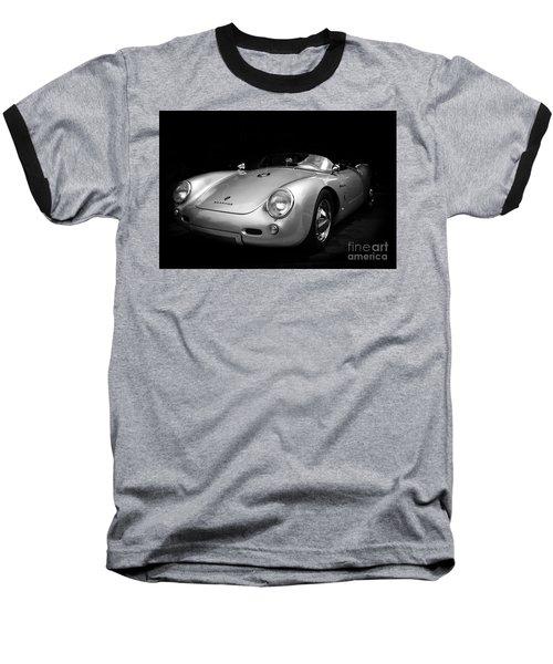 Classic Porsche Baseball T-Shirt by Perry Webster
