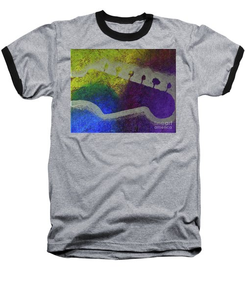 Classic Rock Baseball T-Shirt by Melissa Goodrich