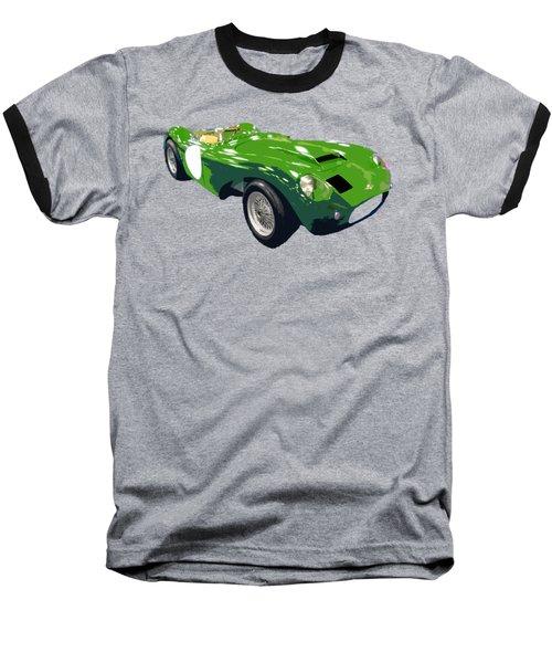 Classic Sports Green Art Baseball T-Shirt