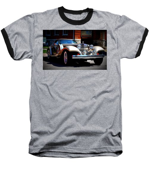 Baseball T-Shirt featuring the photograph Classic Streets by Al Fritz