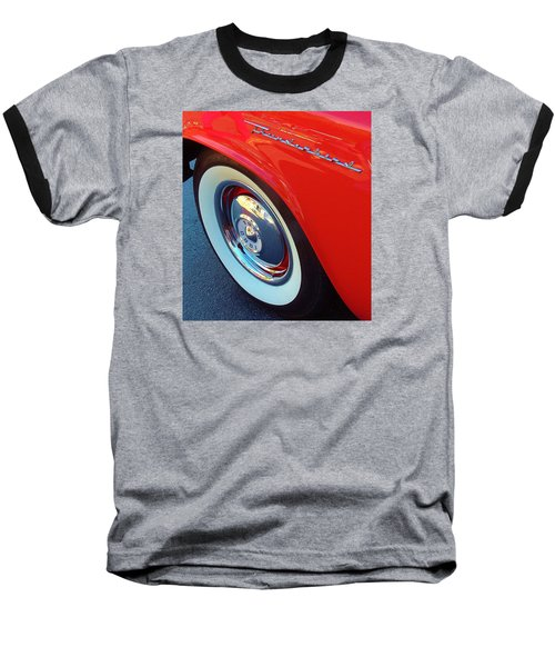 Classic T-bird Tire Baseball T-Shirt