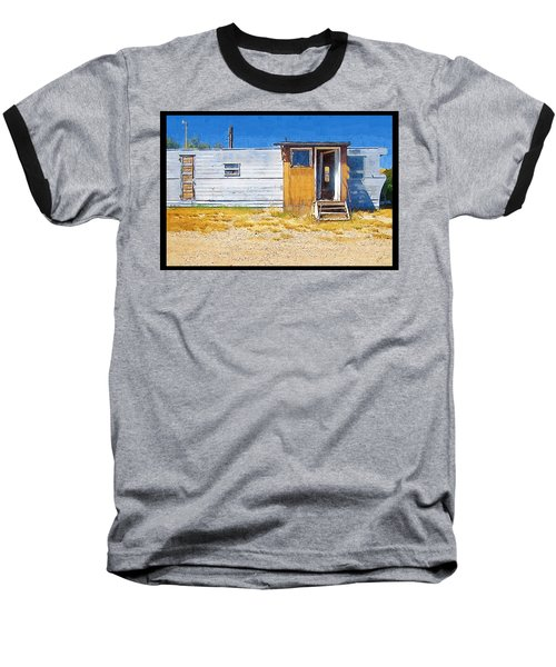 Baseball T-Shirt featuring the photograph Classic Trailer by Susan Kinney
