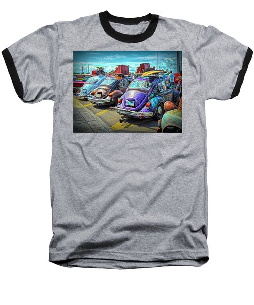 Classic Volkswagen Beetle - Old Vw Bug Baseball T-Shirt