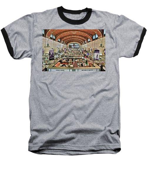 Classic Westside Market Baseball T-Shirt