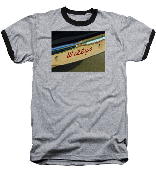 Classic Willys Jeep Baseball T-Shirt