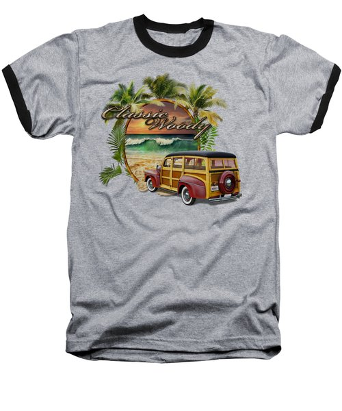 Classic Woody Baseball T-Shirt by Rob Corsetti