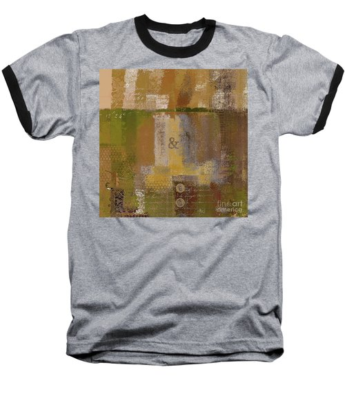 Baseball T-Shirt featuring the digital art Classico - S0309b by Variance Collections