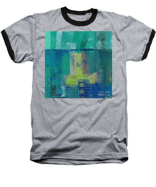 Baseball T-Shirt featuring the digital art Classico - S03c04 by Variance Collections