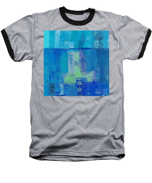 Baseball T-Shirt featuring the digital art Classico - S03c06 by Variance Collections