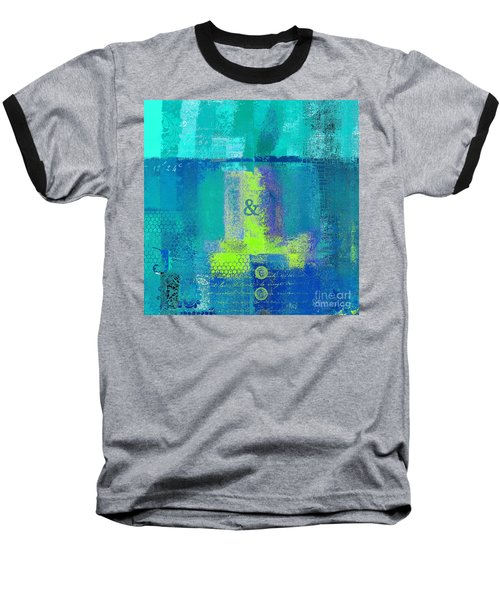 Baseball T-Shirt featuring the digital art Classico - S03c26 by Variance Collections