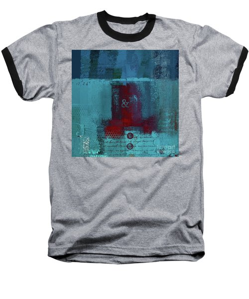 Baseball T-Shirt featuring the digital art Classico - S03b by Variance Collections