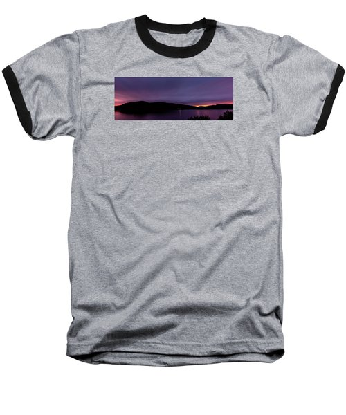 Clatteringshaws After Sunset. Baseball T-Shirt