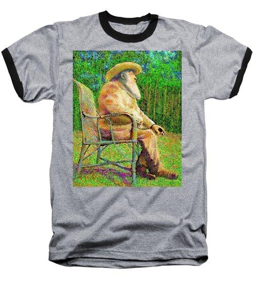 Claude Monet In His Garden Baseball T-Shirt