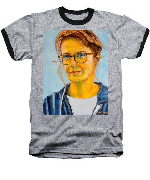 Claudia-portrait Baseball T-Shirt