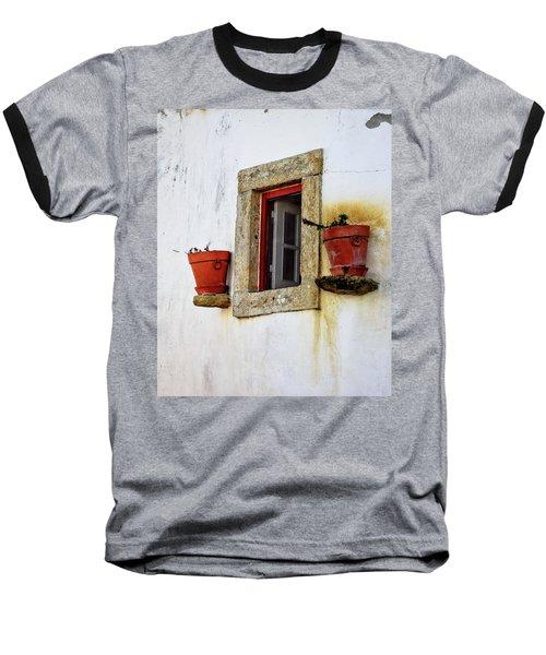 Clay Pots In A Portuguese Village Baseball T-Shirt