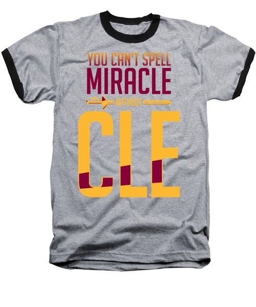 cle Baseball T-Shirt by Augen Baratbate