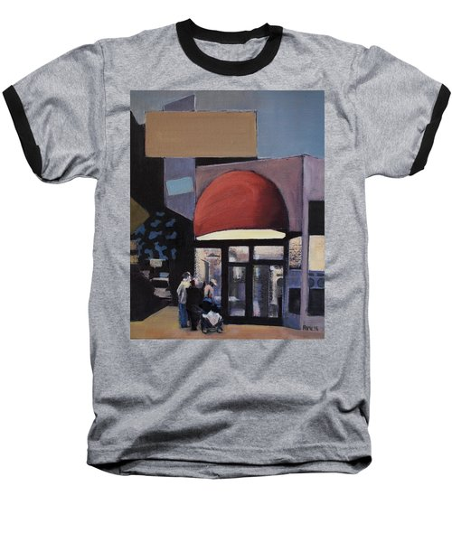 Clean - O - Matic Baseball T-Shirt by Richard Willson