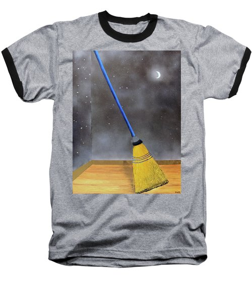 Cleaning Out The Universe Baseball T-Shirt by Thomas Blood