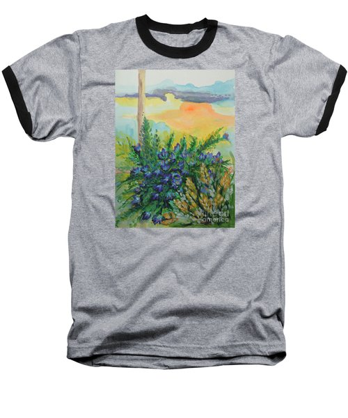 Baseball T-Shirt featuring the painting Cleansed by Holly Carmichael