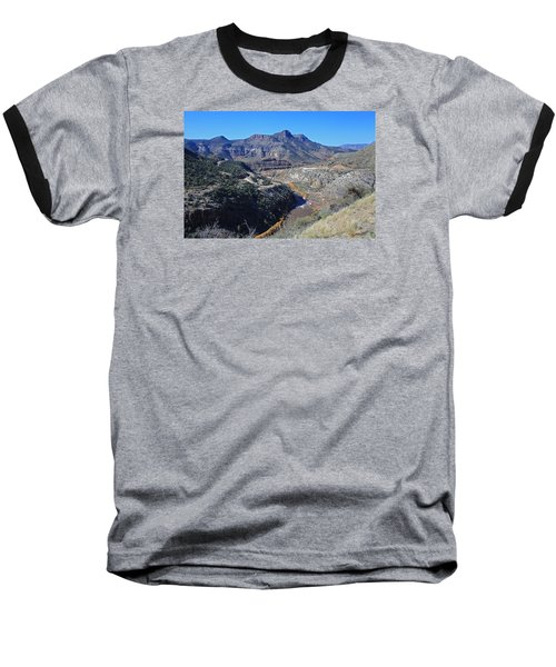 Baseball T-Shirt featuring the photograph Clear And Rugged by Gary Kaylor