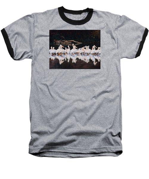 Clear Lake Pelicans Baseball T-Shirt by Linda Becker
