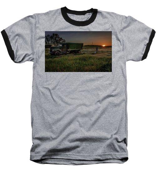 Clear Morning Sunrise Baseball T-Shirt