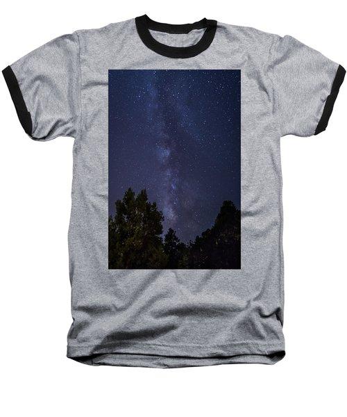 Clear Night In Ruidoso Baseball T-Shirt