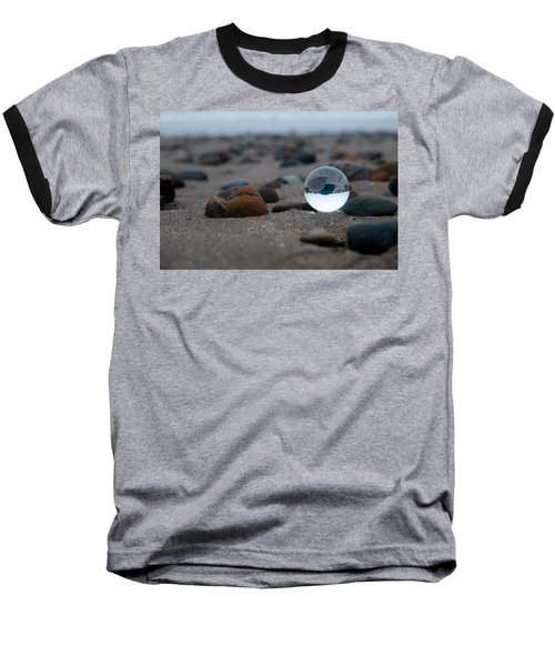 Baseball T-Shirt featuring the photograph Clear Rock by Lora Lee Chapman