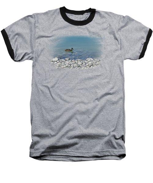 Clear Water  Baseball T-Shirt by Ivana Westin