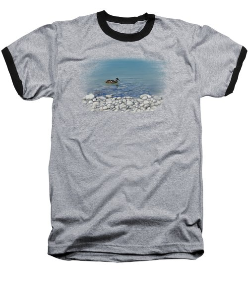 Clear Water  Baseball T-Shirt