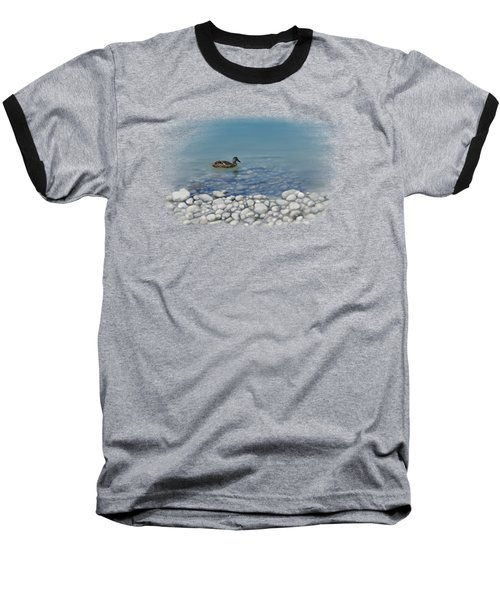 Baseball T-Shirt featuring the painting Clear Water  by Ivana Westin