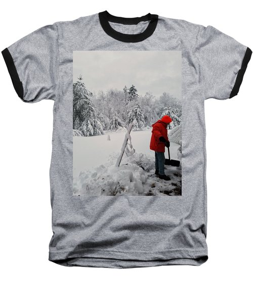 Clearing A Path Baseball T-Shirt