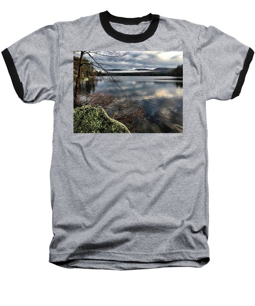 Clearing Sky Baseball T-Shirt by Betty Pauwels