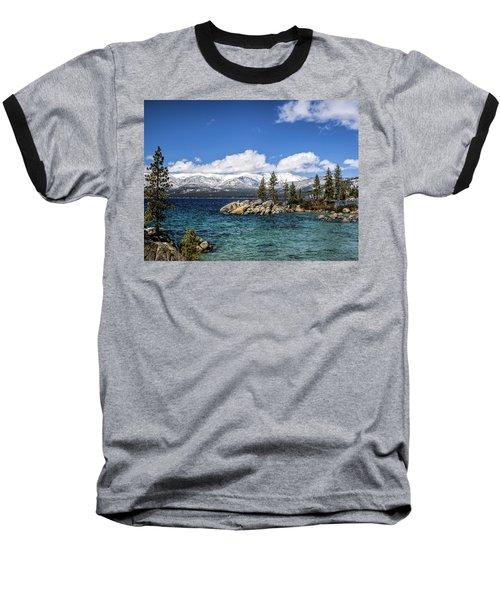 Clearing Sky Baseball T-Shirt