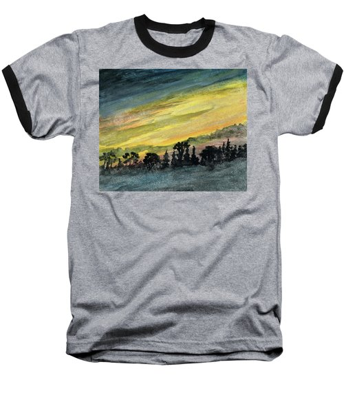 Clearing Storm Baseball T-Shirt by R Kyllo