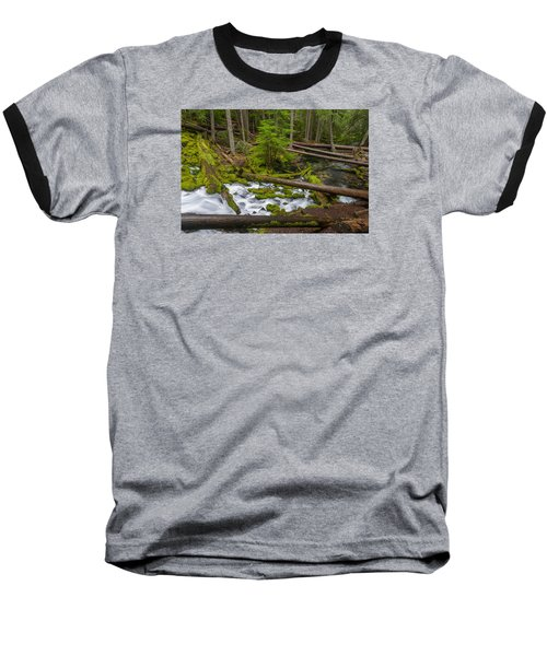 Clearwater Creek Rapids Baseball T-Shirt
