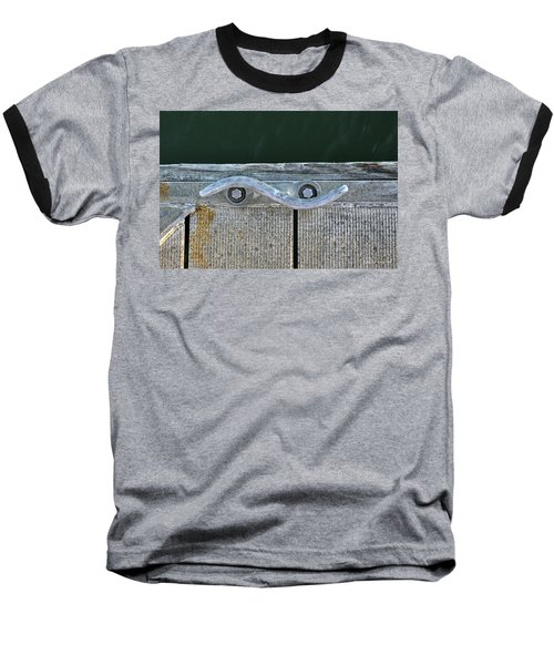 Cleat On A Dock Baseball T-Shirt